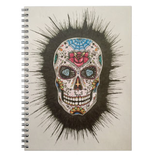 Sugar skull notebooks