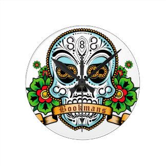 Sugar Skull Original Clock
