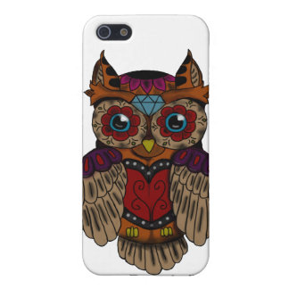 Sugar Skull owl iPhone 5/5S Cover