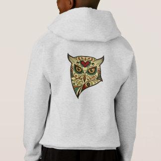 Sugar Skull Owl - Tattoo Design