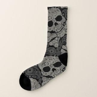 Sugar Skull Pattern All-Over-Print Socks