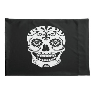 Sugar Skull Pillow Cases