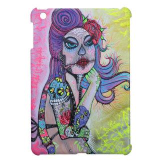 Sugar Skull Pin Up Girl iPad Mini Case