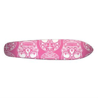 Sugar Skull Pink.png Skateboard Deck