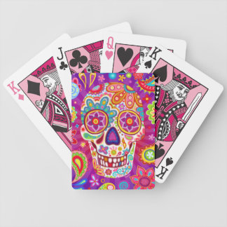 Sugar Skull Playing Cards - Day of the Dead Art