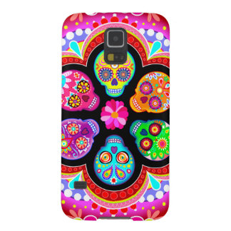 Sugar Skull Samsung Galaxy S5 Case - Colorful!