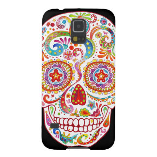 Sugar Skull Samsung Galaxy S5 Case - Colourful!