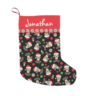 sugar skull santa customizable