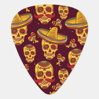 Sugar Skull Standard Guitar Pick