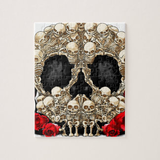 Sugar Skull - Tattoo Design Jigsaw Puzzle