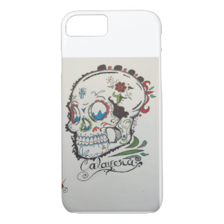 Sugar skull tattoo iPhone 8/7 case