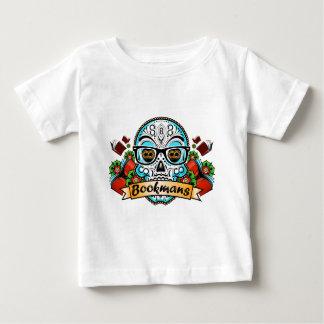 Sugar Skull W/ Glasses Baby T-Shirt