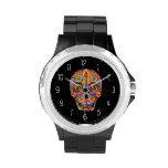 Sugar Skull Watch - Day of the Dead