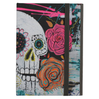 Sugar Skull with Roses Powis Case