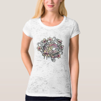 Sugar Skull with vines T-Shirt