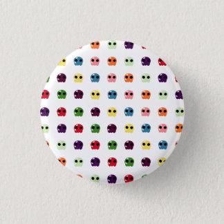 Sugar Skulls 3 Cm Round Badge