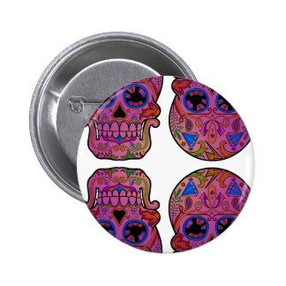 Sugar Skulls 6 Cm Round Badge