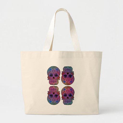 Sugar Skulls Tote Bags