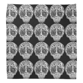 Sugar Skulls Bandana - Day of the Dead Art