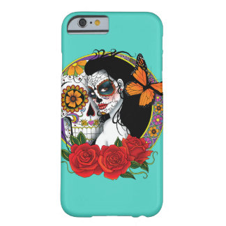Sugar Skulls Barely There iPhone 6 Case