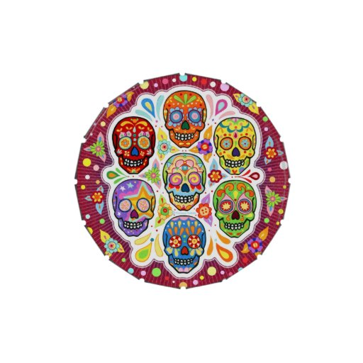 Sugar Skulls Candy Tin - Day of the Dead
