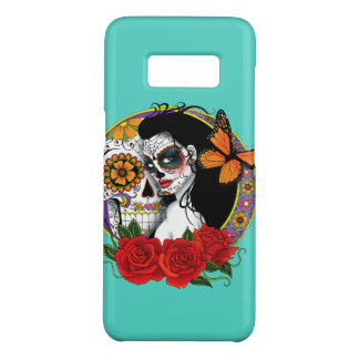 Sugar Skulls Case-Mate Samsung Galaxy S8 Case