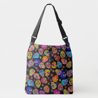 Sugar Skulls Crossbody Bag