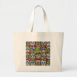 Sugar Skulls Jumbo Tote Bag