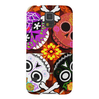 sugar skulls n' bones galaxy s5 cover