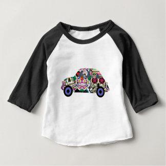 Sugar Skulls Watching You Baby T-Shirt