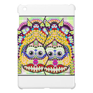 Sugar Smiling Day Of the Dead Twins Cover For The iPad Mini