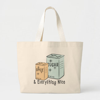 Sugar Spice and everything nice Tote Bag
