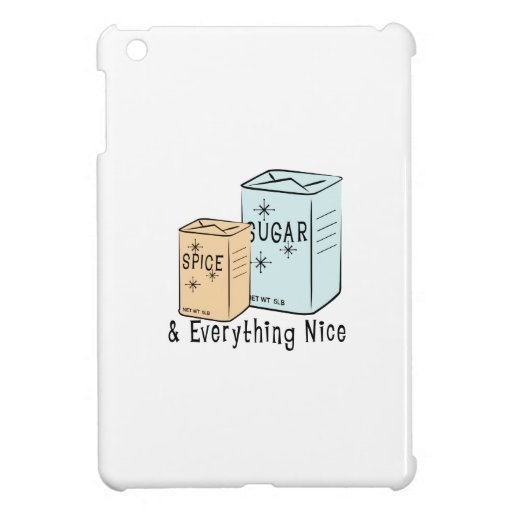 Sugar Spice and everything nice Cover For The iPad Mini