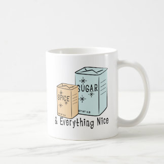 Sugar Spice and everything nice Mugs