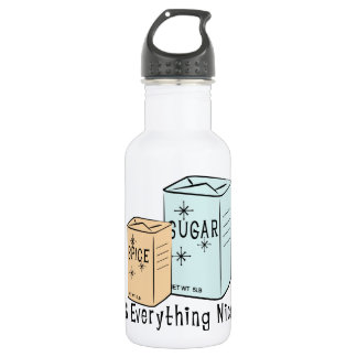 Sugar Spice and everything nice 532 Ml Water Bottle