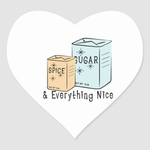 Sugar Spice and everything nice Stickers