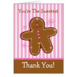Sugar & Spice Gingerbread Custom Card