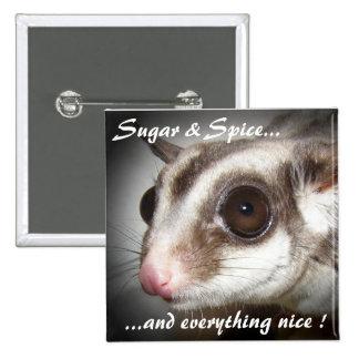 Sugar Spice Sugar Glider Button