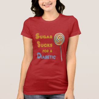 Sugar Sucks - Diabetes Awareness T-Shirt