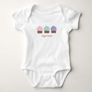 Sugar Sweet Cupcakes Baby Bodysuit