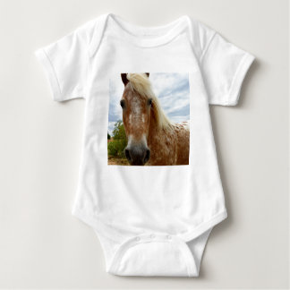 Sugar The Appaloosa Horse,_ Baby Bodysuit