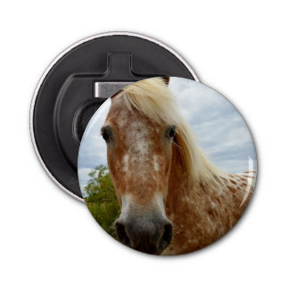 Sugar The Appaloosa Horse, Magnetic Bottle Opener. Bottle Opener