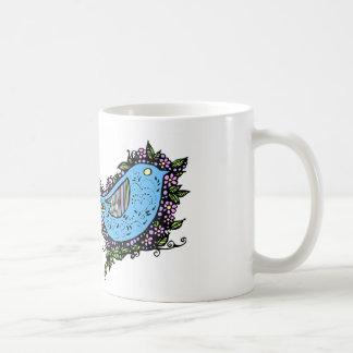 SugarBird Basic White Mug