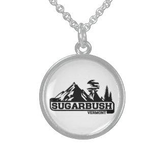Sugarbush Vermont Sterling Silver Necklace