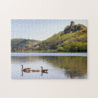 Sugarloaf Geese Jigsaw Puzzle