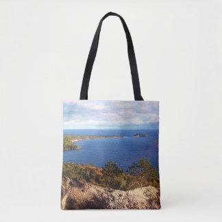 Sugarloaf Mountain In Autumn Tote Bag