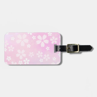 sugarparade Sakura Bloom Luggage Tag