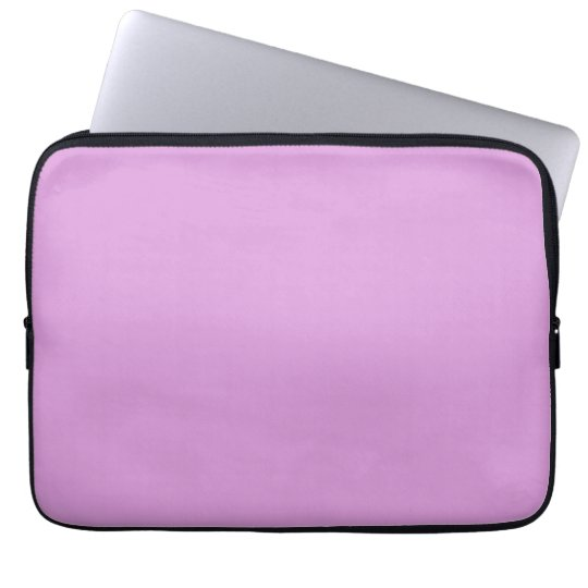Sugarplum Lavender Purple Solid Colour Background Laptop Sleeve