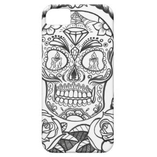 Sugarskull Tattoo Art By Sweetpieart iPhone 5 Cases