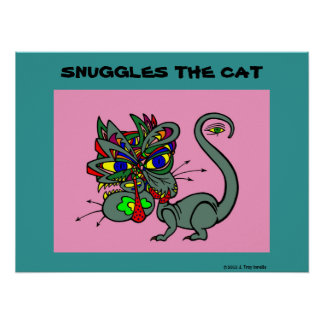 Suggles the Cat Poster